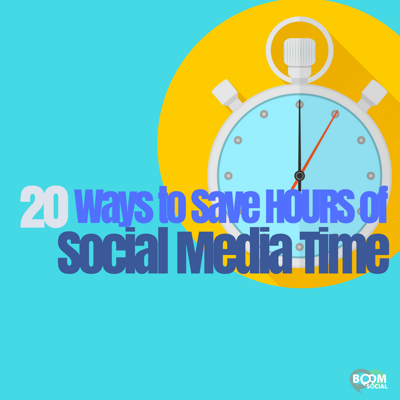 20 Ways To Save HOURS Of Social Media Time