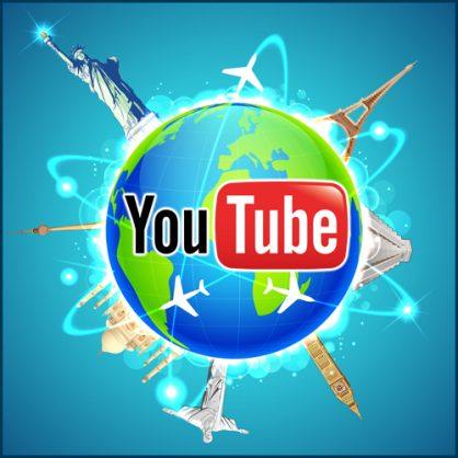YouTube Around The World [Infographic]