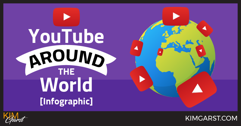 YouTube Around The World [Infographic]