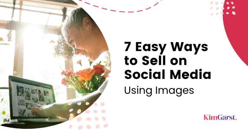social selling using images
