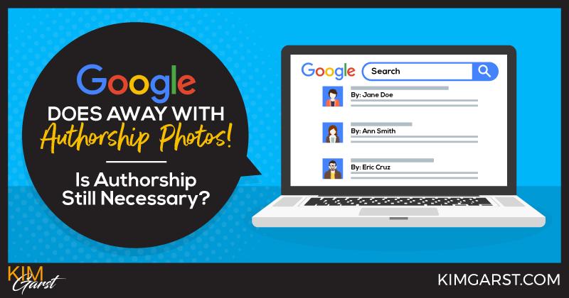 Google Does Away With Authorship Photos! Is Authorship Still Necessary?