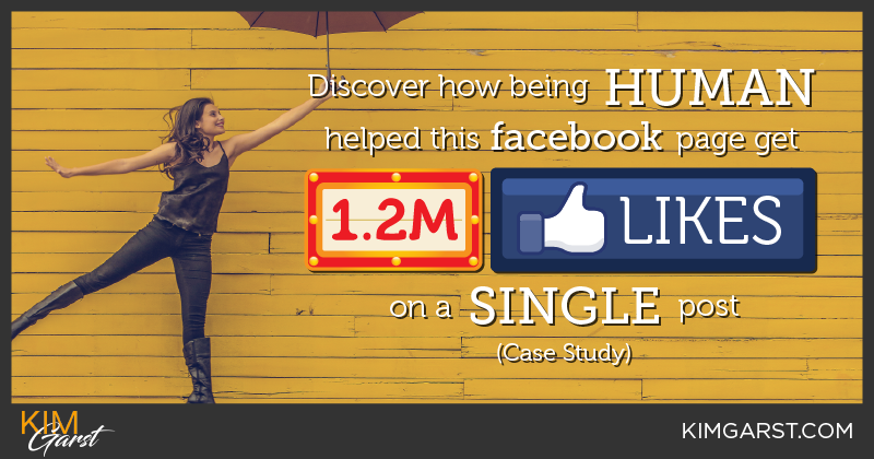 Discover How being human helped this Facebook Page Get 1.2 Million Likes on a single post Case Study