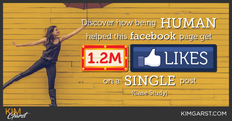 Discover How being human helped this Facebook Page Get 1.2 Million Likes on a single post [Case Study]