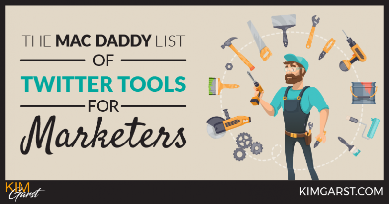The Mac Daddy List of Twitter Tools for Marketers