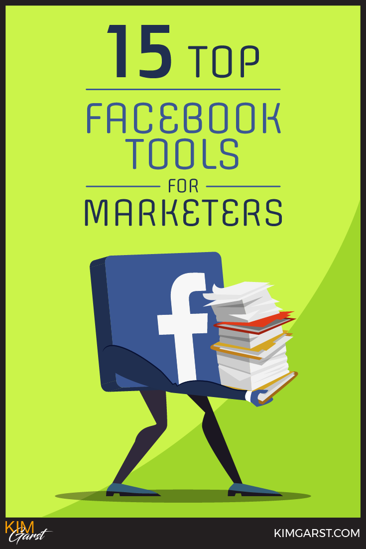 These 15 TOP Facebook Tools for Marketers will save you time, money and a ton of frustration allowing you to manage and build your presence on Facebook.