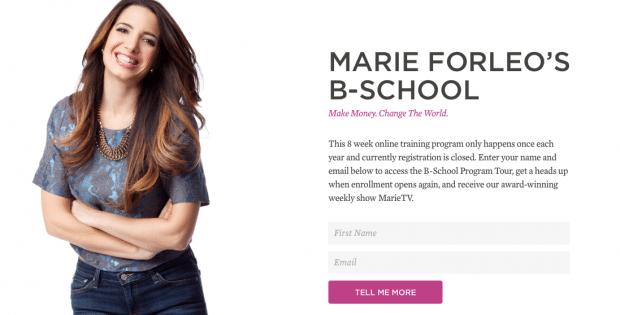 Marie Forleo's Business School