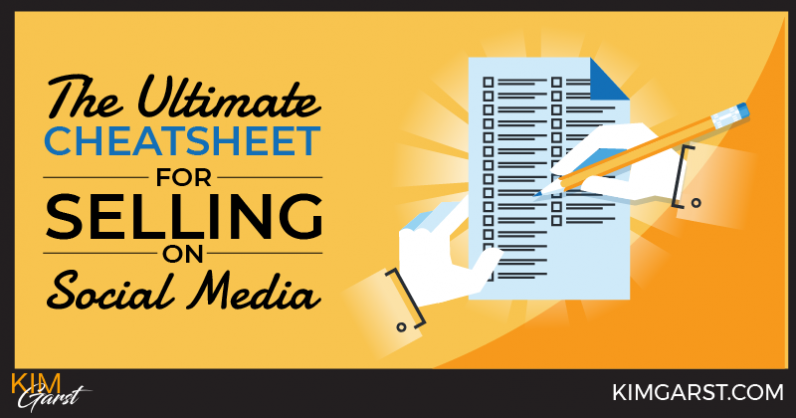 The Ultimate Cheatsheet for Selling on Social Media