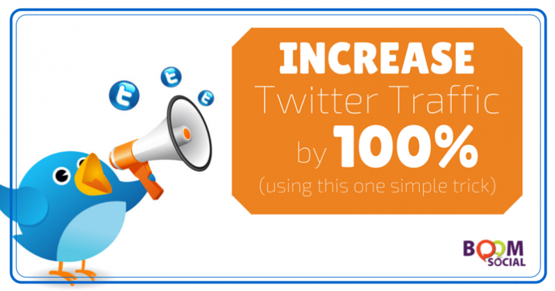 Increase Twitter Traffic by 100% Using This One Simple Trick