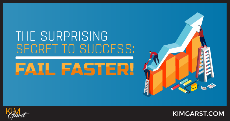 The Surprising Secret to Success: Fail Faster!