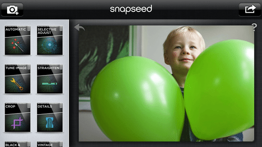 Snapseed Example