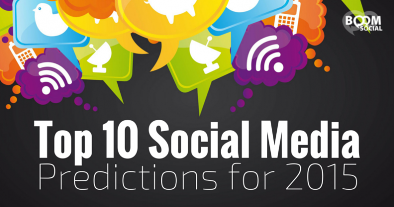 Top 10 Social Media Predictions for 2015