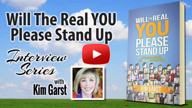 Will The Real You Please Stand Up Interview Series With Special Guest Ali Brown