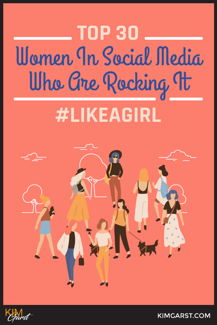 Top 30 Women In Social Media Who Are Rocking It #LikeAGirl