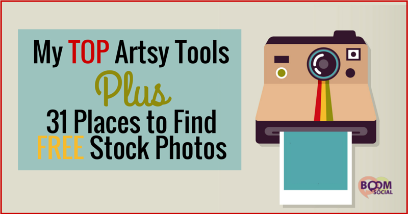 My TOP Artsy Tools Plus 31 Places to find free stock photos - Kim Garst