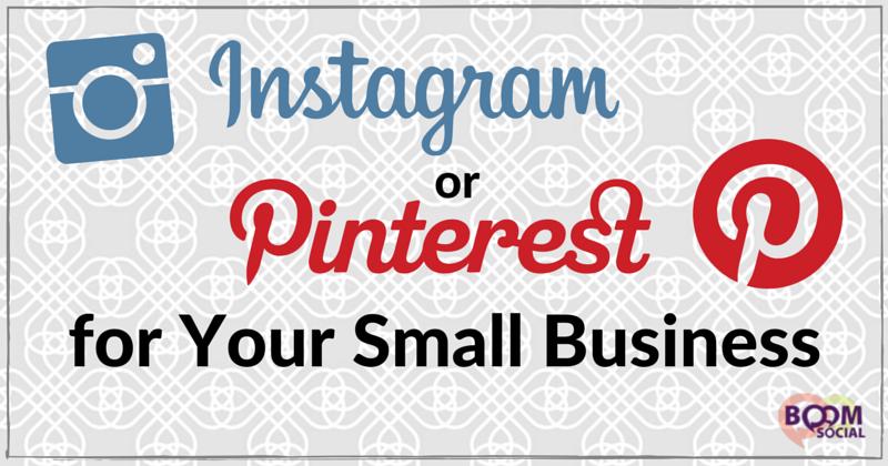 Instagram or Pinterest for Your Small Business - Kim Garst