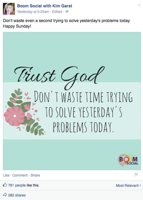 Kim Post - Trust God
