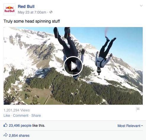 Red Bull Post