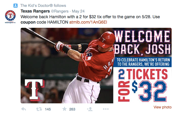 Texas Rangers Post