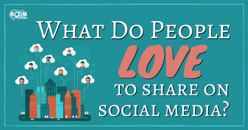 What Do People Love to Share on Social Media?