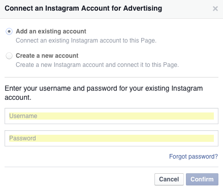 how to set up separate instagram account