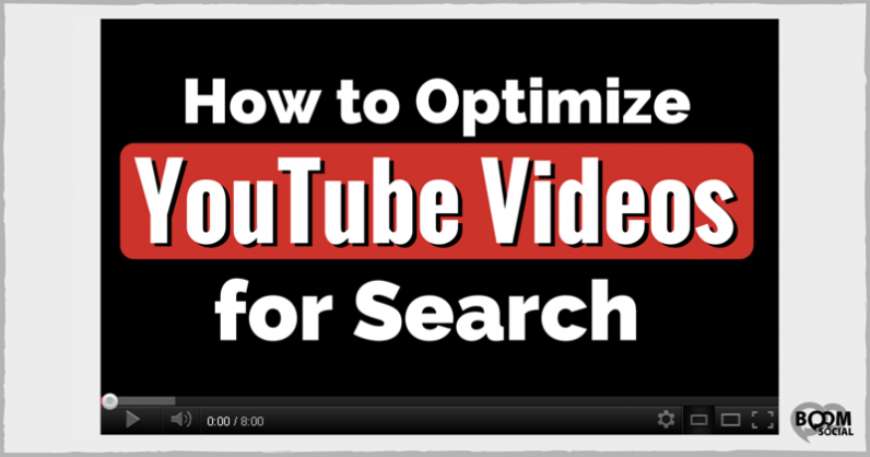 How to Optimize YouTube Videos for Search