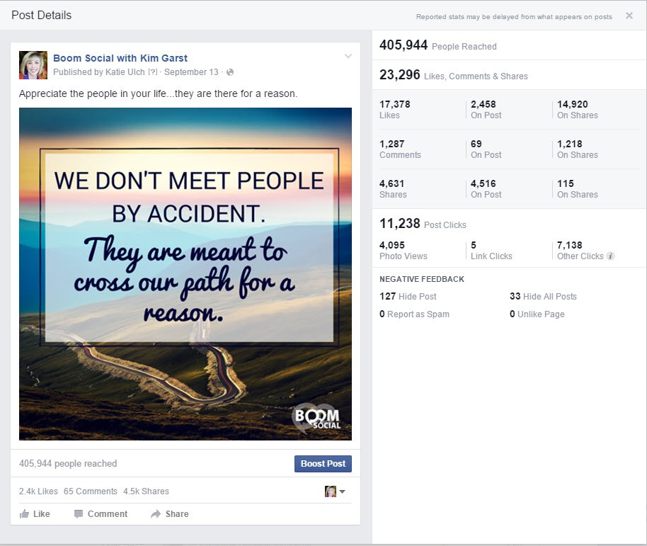 Likes Quotes On Facebook: 3 Ways To Boost A Post Like A Pro!