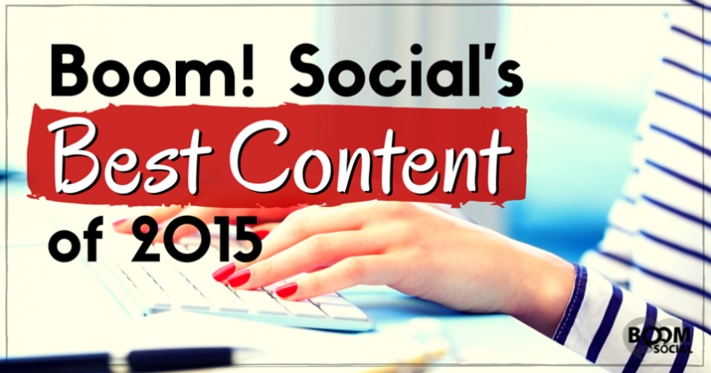 Boom! Social's Best Content of 2015