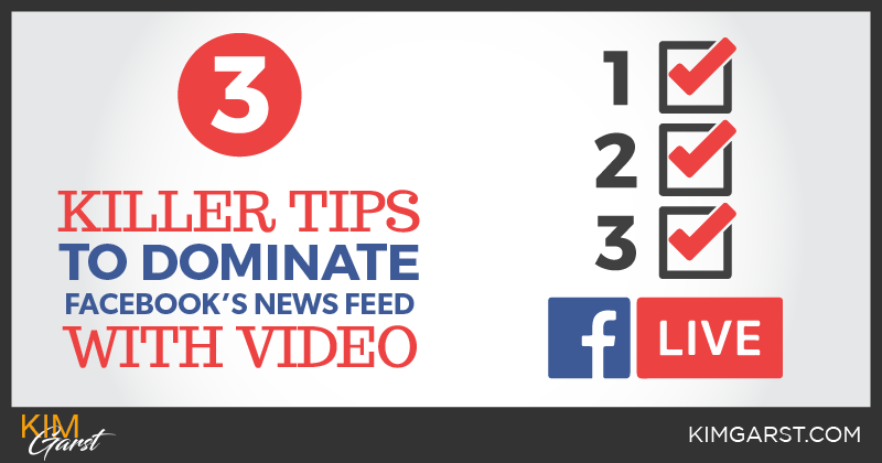 3 Killer Tips to Dominate Facebook's News Feed with Video