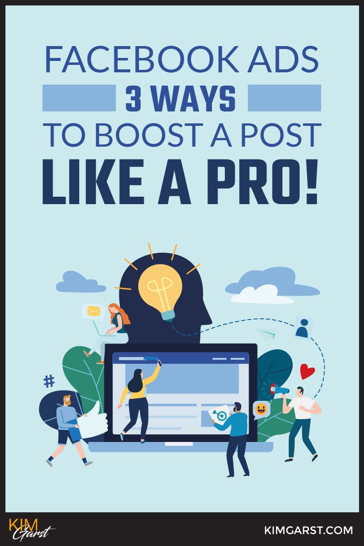 "Paying Facebook money to show your posts to more people, or ""boost"" their reach, couldn't be any easier. You simply need to boost a post!"