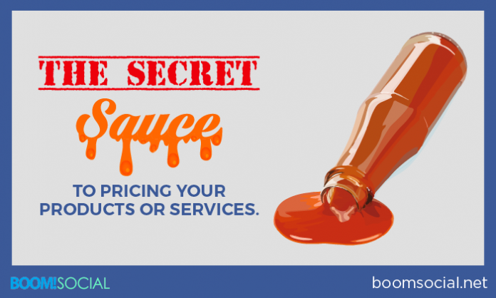 The Secret Sauce to Pricing Your Products Or Services