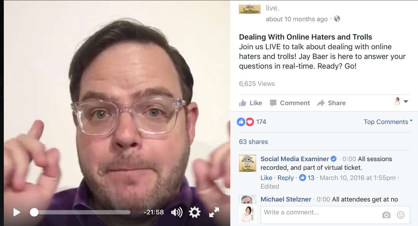 Facebook LIVE Versus Instagram LIVE