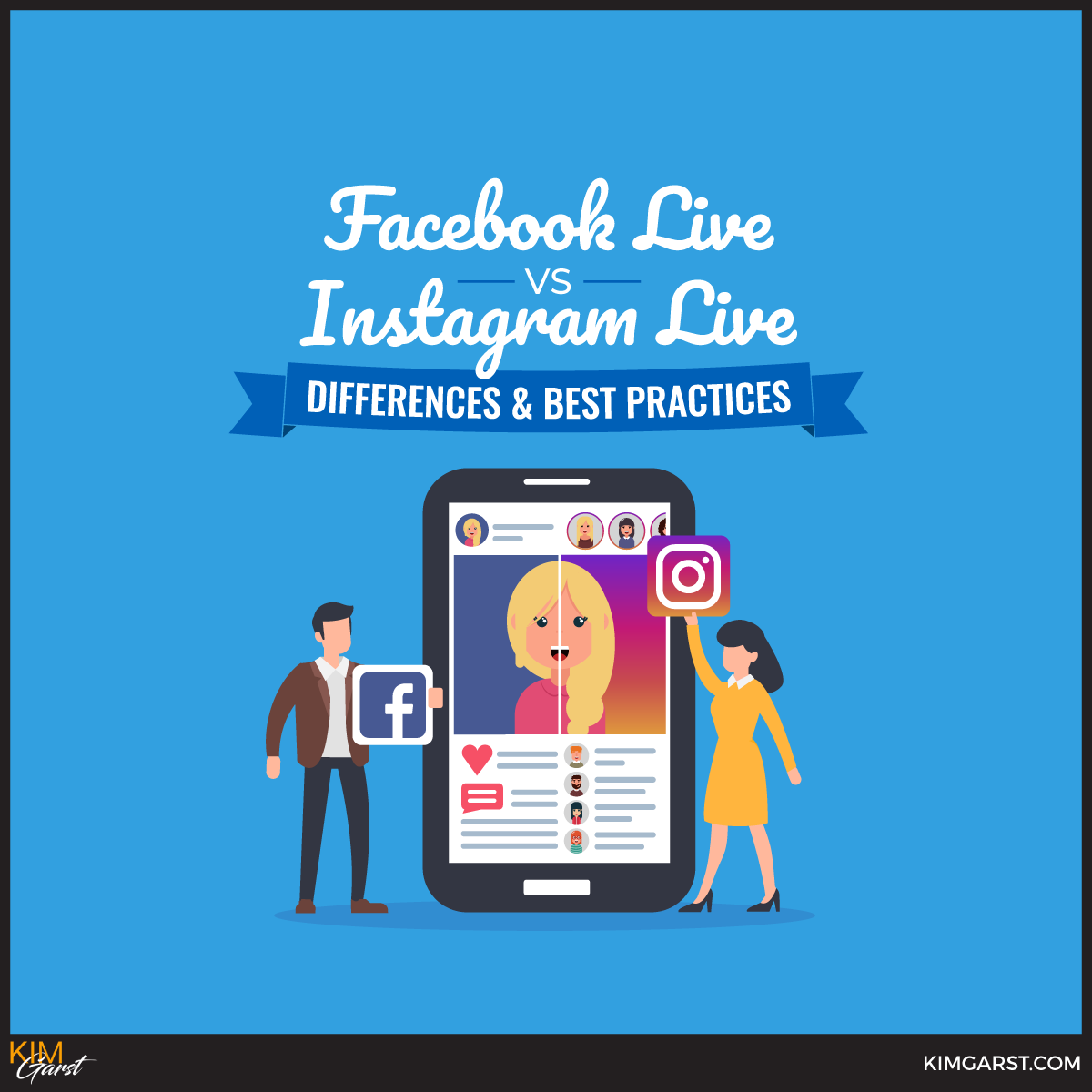 Facebook Live vs  Instagram Live: Differences & Best