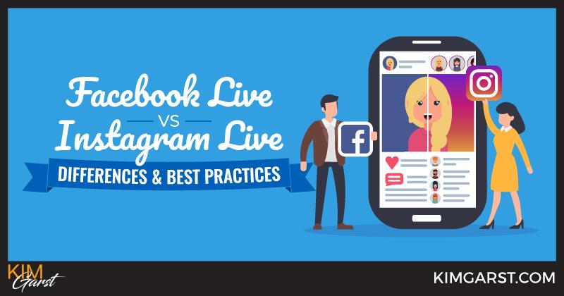 Facebook Live vs. Instagram Live: Differences & Best Practices