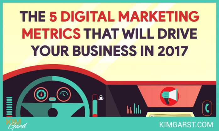 The Five Digital Marketing Metrics That Will Drive Your Business in 2017