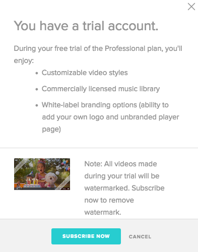 How to Set Up Your Animoto Trial Account