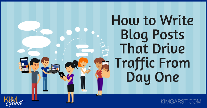 How to Write Blog Posts That Drive Traffic From Day One