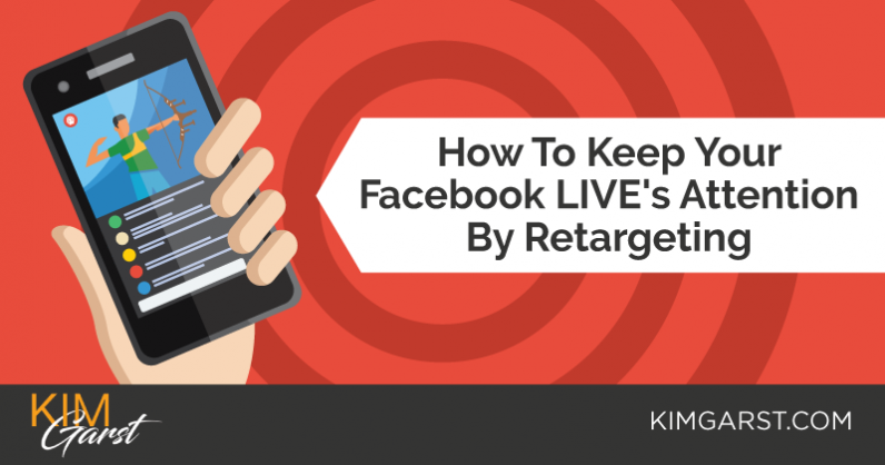 How To Keep Your Facebook LIVE Viewers Attention By Retargeting