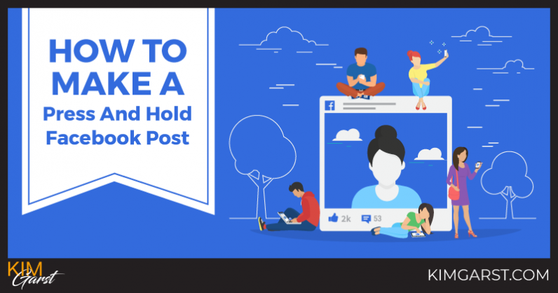 How To Make A Press And Hold Facebook Post