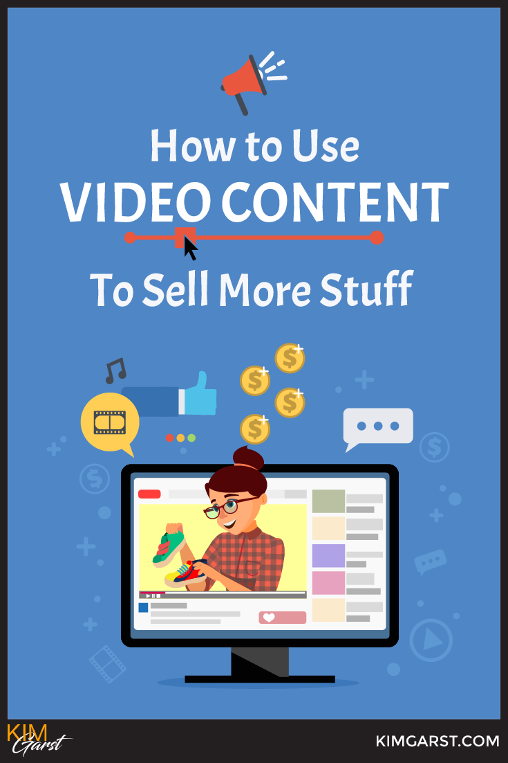 How to use video content on your site and on social media to increase your reach, build trust…and make more money!