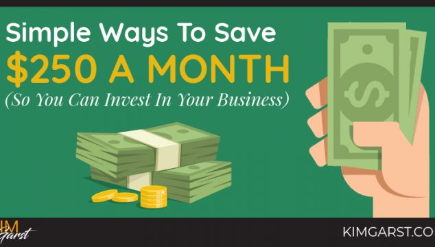 Simple Ways to Save $250 a Month