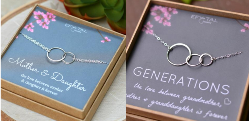 Efy & Tal Mother Daughter & Generations Necklaces