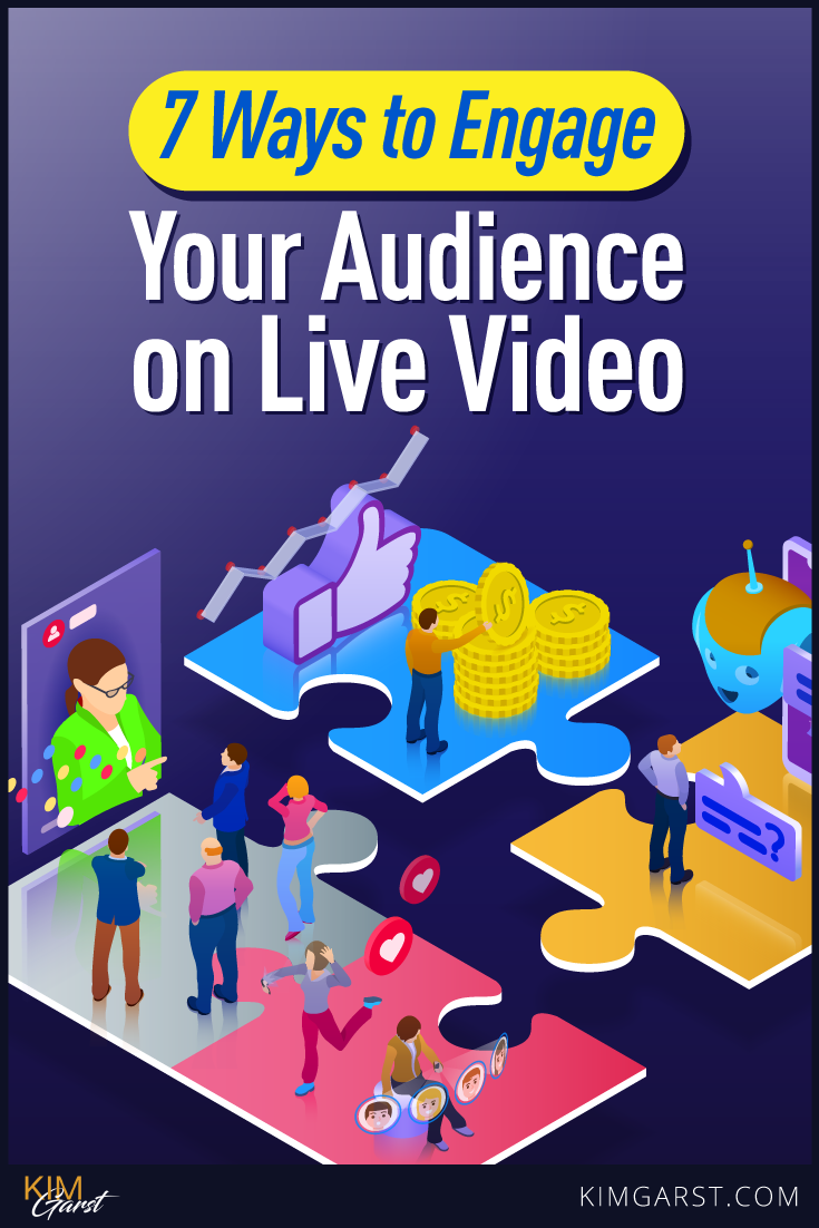 7 of the most engaging types of Lives you should be doing…as well as 7 BONUS tips for making those live videos as engaging as possible.