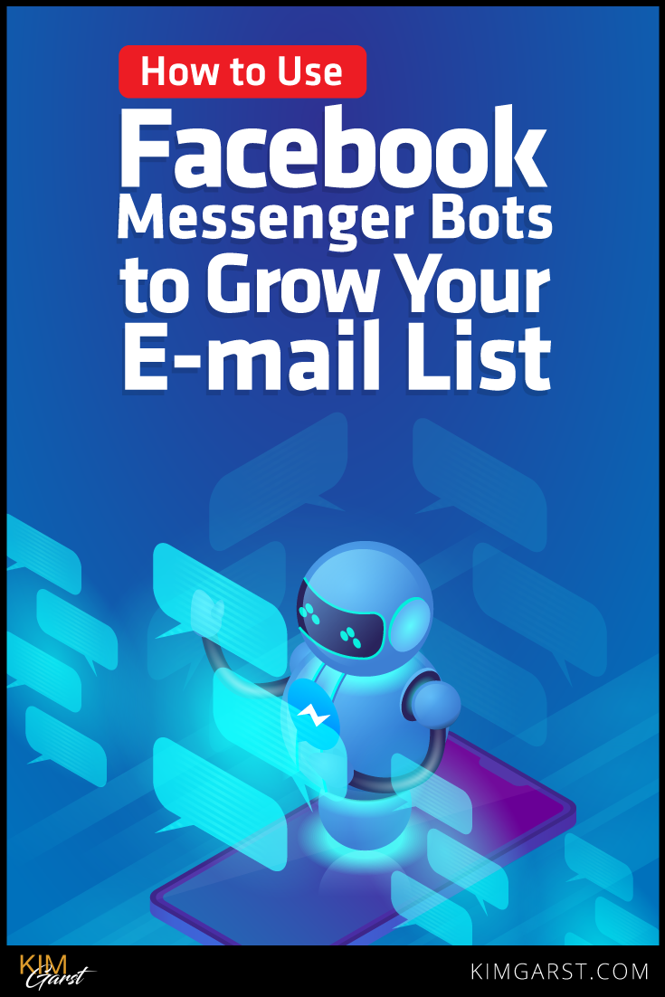 Build relationships with your messenger subscribers AND build your e-mail list at the same time using Facebook Messenger Bots.Hh