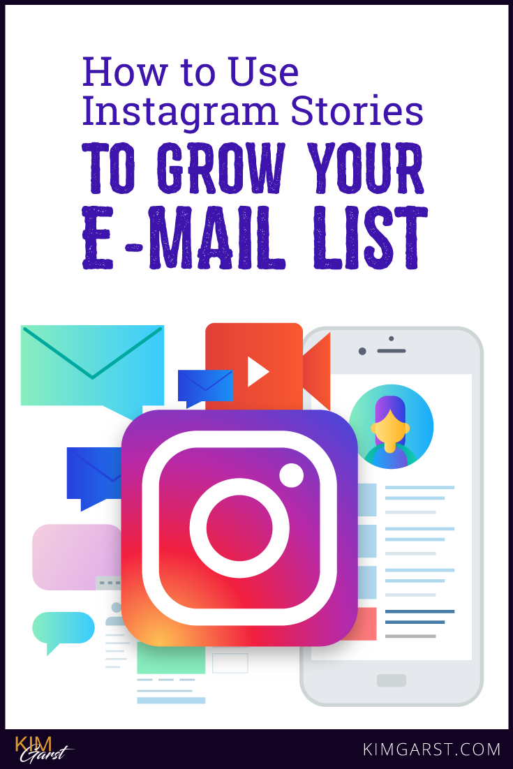 Simple strategies you can start using TODAY to supercharge your Instagram stories, get traffic to your site and grow your email list…all in one fell swoop!