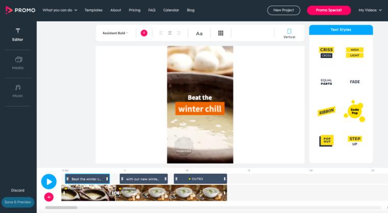 promo.com facebook tool for marketers