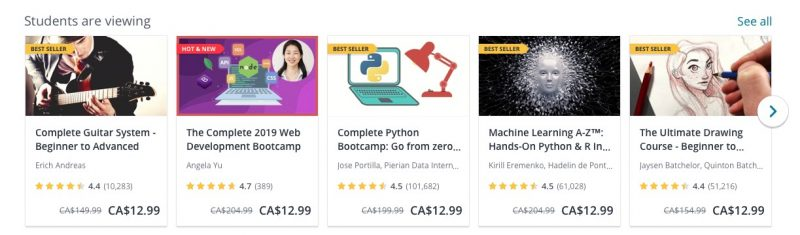 Udemy-Example-Online-Courses