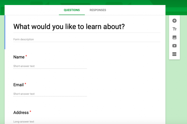 Google-Form-Ask-Audience-What-They-Want-To-Learn-About