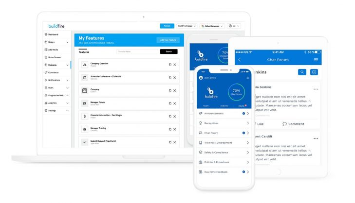 BuildFire makes it easy to build an app, which is another way to earn passive income for some service based businesses.