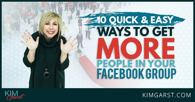 get more people in your facebook group