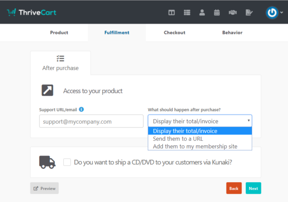 Set-your-Fulfillment-preferences-in-ThriveCart